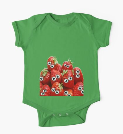 Fruity Faces One Piece - Short Sleeve