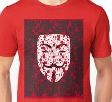 The only Verdict is Vengeance; a Vendetta Unisex T-Shirt