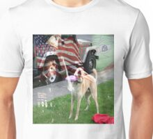 Frisbee Doge - Never Forget Unisex T-Shirt