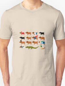 Sneaky Dog and friends T-Shirt