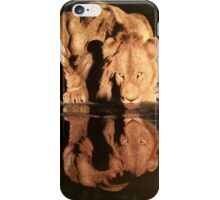 A Lion's Thirst iPhone Case/Skin