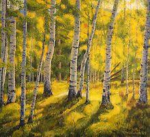 Sunny birch by Veikko  Suikkanen