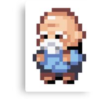 Pokemon - Old Man Canvas Print