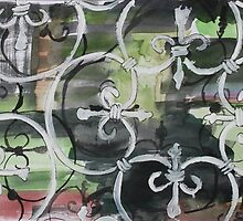 Victorian wrought-iron by Fiona Mill