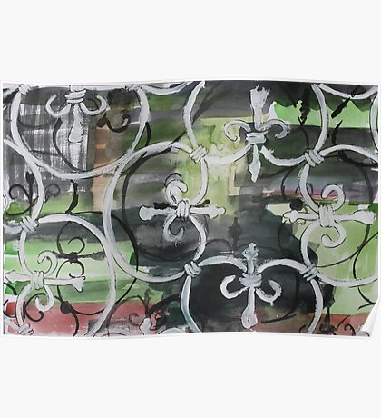 Victorian wrought-iron Poster