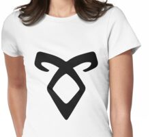 The Mortal Instruments - Angelic Power Rune Womens Fitted T-Shirt