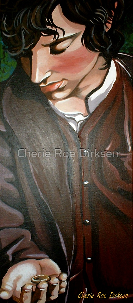Frodo and The Ring by Cherie Roe Dirksen