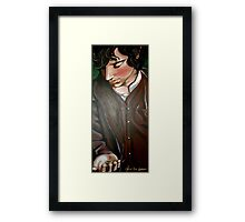 Frodo and The Ring Framed Print