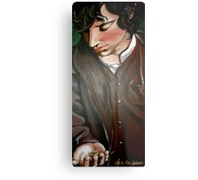 Frodo and The Ring Metal Print