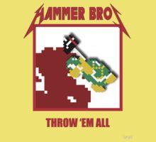 Hammer bros - Throw 'Em All Kids Tee