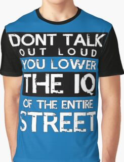 Sherlock - Don't Talk Out Loud... Graphic T-Shirt