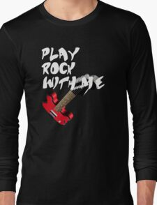 Play Rock with me Long Sleeve T-Shirt