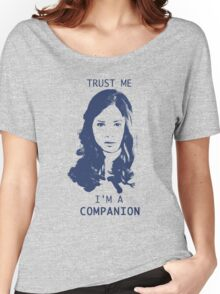 Trust Me, I'm A Companion Women's Relaxed Fit T-Shirt