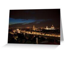Notte a Firenze Greeting Card