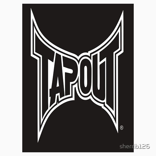 Pin Tapout Logo Purple...