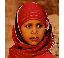 Jordan girl Photographic Print