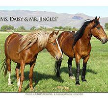 2014 April  Ms. Daisy & Mr. Jingles by Ellen  Holcomb