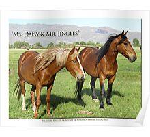 2014 April  Ms. Daisy & Mr. Jingles Poster