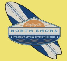 Surfing the North Shore Kids Tee
