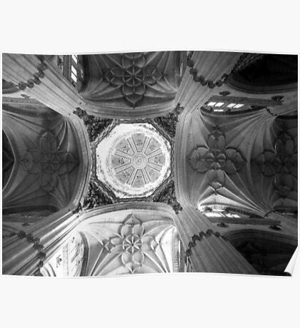 Cathedral of Salamanca Poster