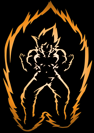 The Power of the Super Saiyan by Loftworks