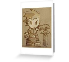 Stonehearth Knight Greeting Card