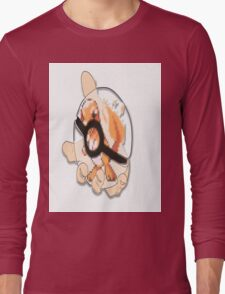 charmander in see thru pokeball  Long Sleeve T-Shirt