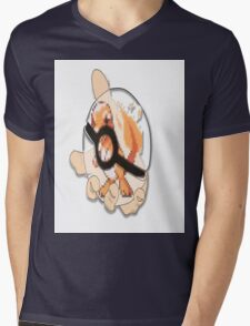 charmander in see thru pokeball  Mens V-Neck T-Shirt