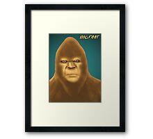Bigfoot Framed Print