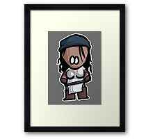 Isabela chibi Framed Print