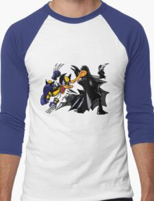 Duck Fight! Men's Baseball ¾ T-Shirt