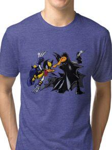 Duck Fight! Tri-blend T-Shirt
