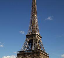 La Tour Eiffel by Geoffrey Fighiera