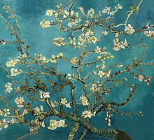 Van Gogh - Blossoming Almond Tree by TilenHrovatic
