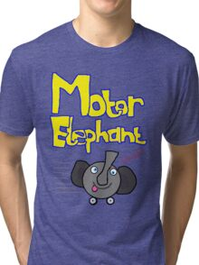 Motor Elephant on the move! Tri-blend T-Shirt