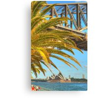 The Bridge & Opera House .. a different view Canvas Print