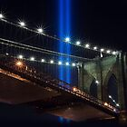 NYC Tribute in Light WTC 9/11 by DangRabbit
