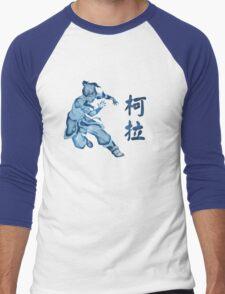 Watercolor Korra Men's Baseball ¾ T-Shirt