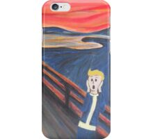 The Scream - Vault Boy iPhone Case/Skin
