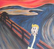 The Scream - Vault Boy by kameniblacket