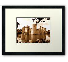 Bodiam Castle 2 Framed Print