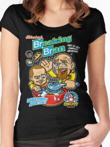 Breaking Bran Women's Fitted Scoop T-Shirt