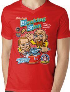 Breaking Bran Mens V-Neck T-Shirt