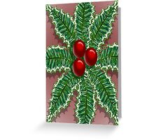 Berried Leaves Greeting Card