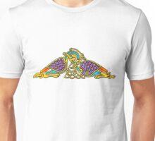 Celtic Illumination - Bird Knot Unisex T-Shirt