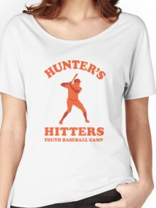 Hunter's Hitters (Orange Version) Women's Relaxed Fit T-Shirt