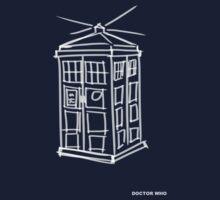 TARDIS Doodle by thegadzooks