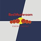 Red Mushroom Energy Boost by byway
