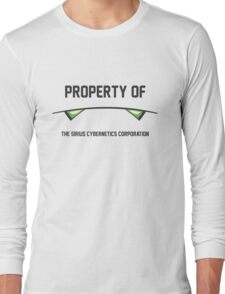 Marvin the Paranoid Android, Property Of Long Sleeve T-Shirt