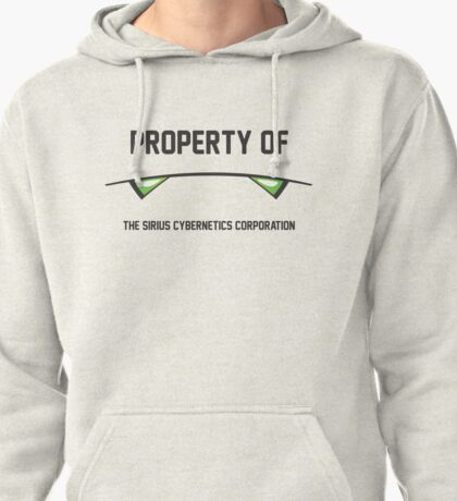 Marvin the Paranoid Android, Property Of Pullover Hoodie
